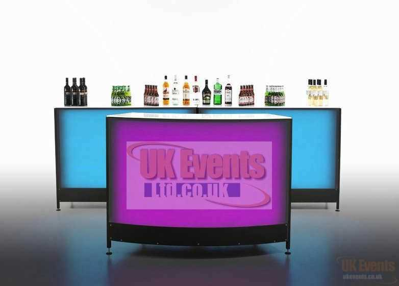 LED Cocktail Bar Hire