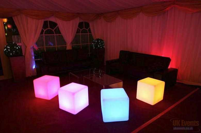 LED Cube / Furniture Hire