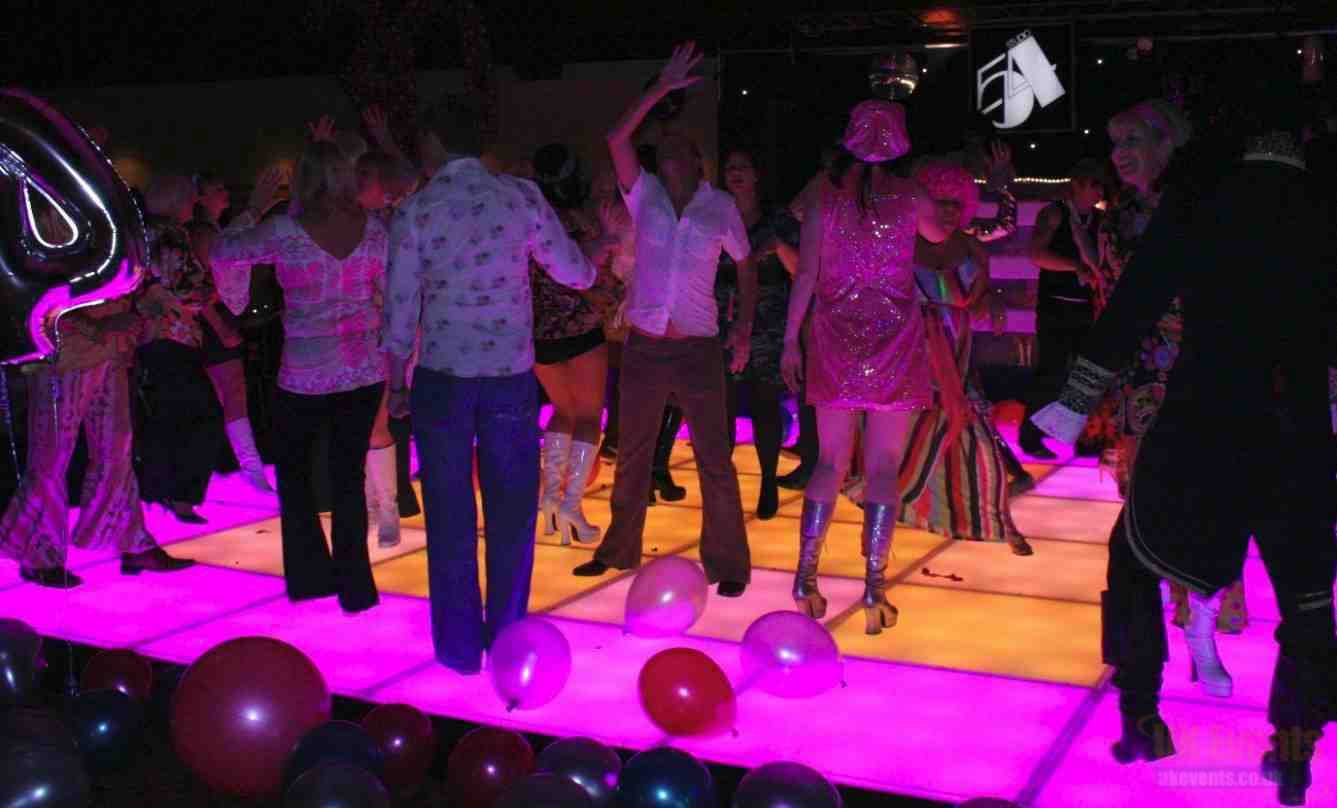 Colour Changing Dance Floor Hire