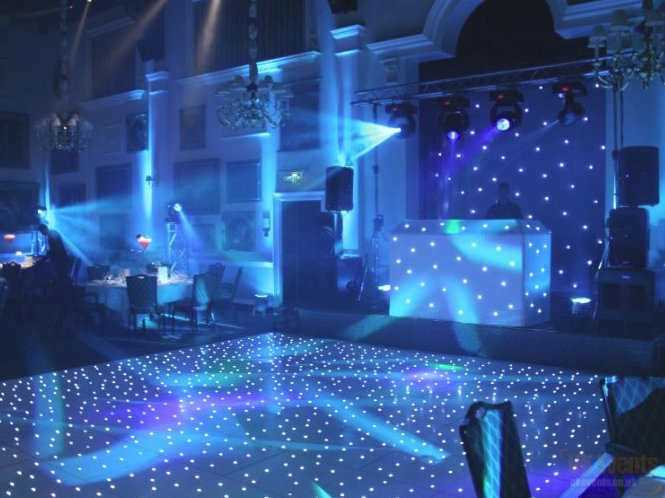 Starlit Dance Floor and Starcloth Hire